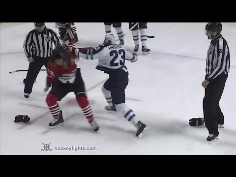 Dan Carcillo vs. Jay Harrison