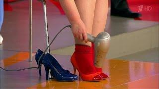Жить здорово! Как растянуть узкую обувь. (03.12.2015)