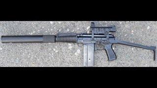 Оружие Спецназа. Автомат малогабаритный. (9А-91)