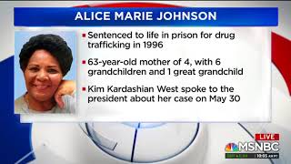 MSNBC CALLS DAUGHTER OF PARDONED FELON — SHE CAN'T STOP THANKING TRUMP