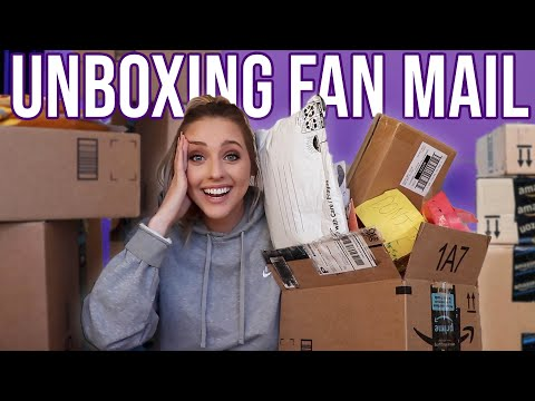 OPENING PACKAGES YOU SENT ME