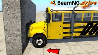 CAN WE MOVE THIS WALL?! - BeamNG Drive