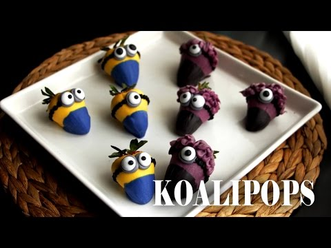 How to Make Amazing Minion Strawberries | Become a Baking Rockstar