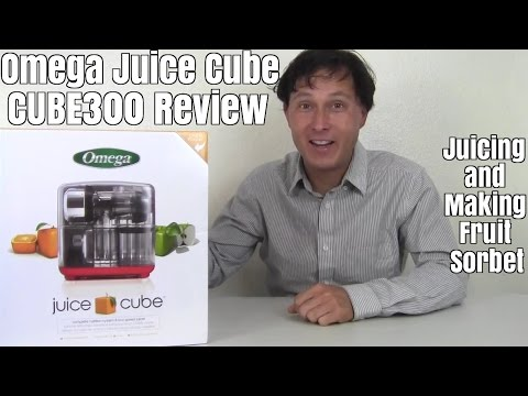 Omega Juice Cube 300 Juicer Nutrition System Review