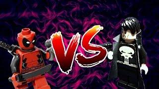 LEGO Punisher vs. Deadpool | Каратель против Дэдпула