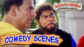 Akshay Kumar & Johnny Lever Funny Scene- 2 | Comedy Scenes | Entertainment | Hindi Film