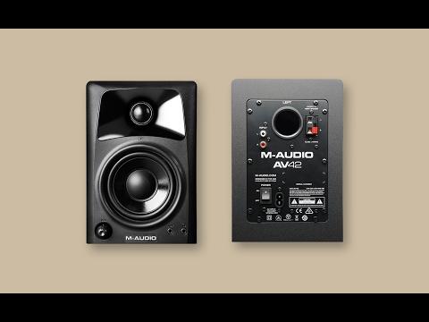 Mis nuevos altavoces de PC: M-Audio AV32 - Análisis + Guia altavoces