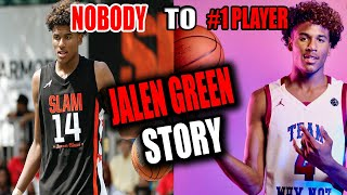JALEN GREEN'S UNBELIEVABLE STORY!!! FROM A NOBODY TO THE TOP PLAYER IN HIGH SCHOOL BASKETBALL
