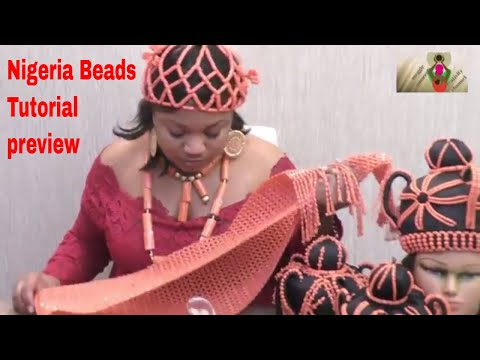 Nigeria wedding beads / Coral beads tutorial preview