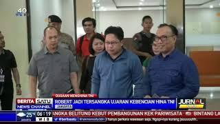Tersangka Penghinaan Institusi TNI Robertus Robet Minta Maaf