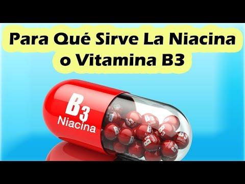 VITAMINA B3 PARA QUE SIRVE | Beneficios De La Niacina o Vitamina B3