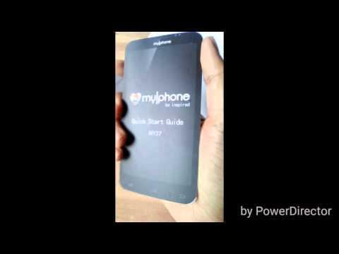 Myphone my27 unboxing