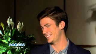 Грант Гастин, 'The Flash': Grant Gustin On Stephen Amell Guest Starring