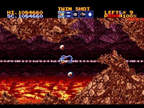 Thunder Force IV Megadrive