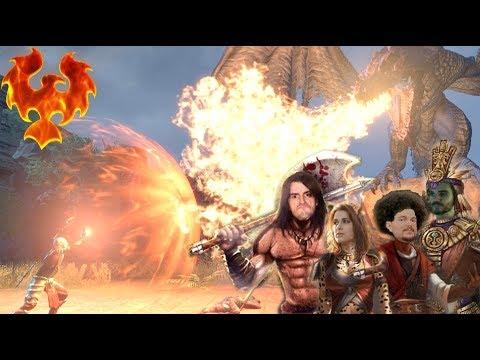 COMBAT CONTRE LE DRAGON FINAL !!! -TESO : Elsweyr- avec Krayn, Desastre & Elyse !!