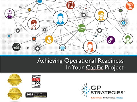 Webinar | Achieving Operational Readiness in Your CAPEX Project