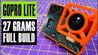 GoPro Lite build // 27g GoPro for cinewhoop // BetaFPV Case for GoPro 6