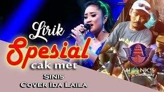 """Cak Met Bener-bener MENGGILA """"LIRIK SINIS"""" NEW PALLAPA - LIVE MIANKS   COVER IDA LAILA"""