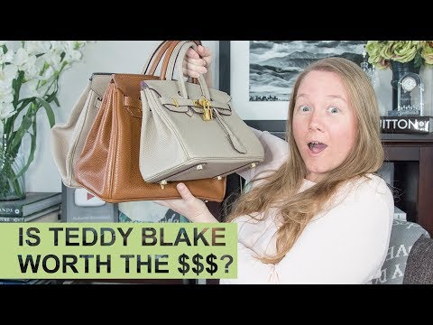 TEDDY BLAKE vs AINIFEEL: Detailed Comparison || Hermes Birkin Inspired Bag || Autumn Beckman