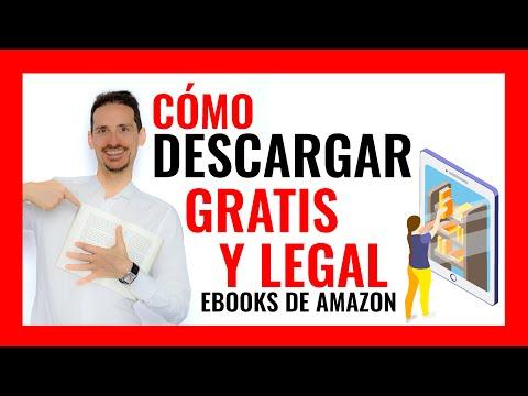 Cómo DESCARGAR GRATIS✔️ y legal EBOOKS de Amazon📕