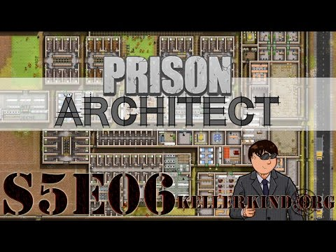 Prison Architect [HD|60FPS] S05E06 – Verurteilung – Part 1 ★ Let's Play Prison Architect