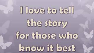 Alan Jackson  I Love to Tell the Story Lyrics