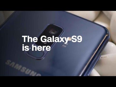 Samsung unveils the Galaxy S9