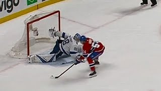Vasilevskiy behind-the-back save steals Lightning vs. Canadiens shootout win