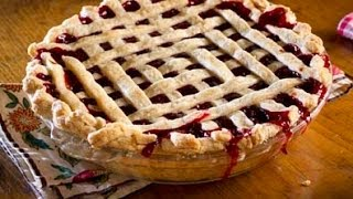 How to make Betty's Cherry Pie with a lattice top