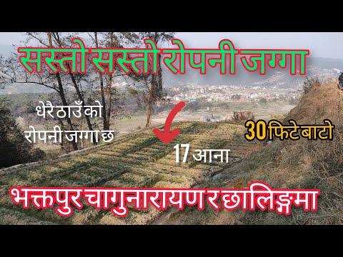 भक्तपुर छालिङ्गमा अहिले सम्मकै सस्तो रोपनी जग्गा||Land Sale In Bhaktapur||Sasto Ghar Jagga Nepal||