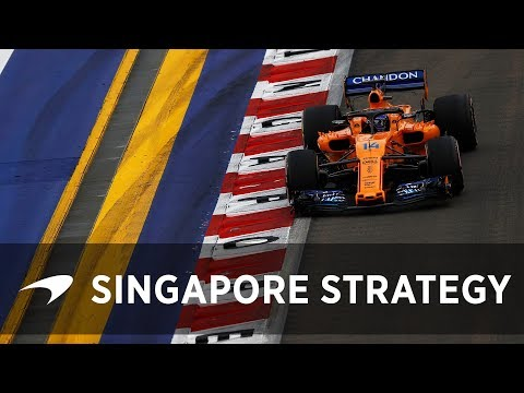 Strategy and the Singapore GP