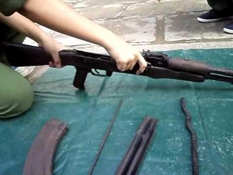 Tháo lắp súng tiểu liên AK-47 - Dành cho bạn nào chưa biết