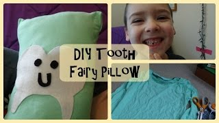 DIY Tooth Fairy Pillow | Goldie Lock Creations*