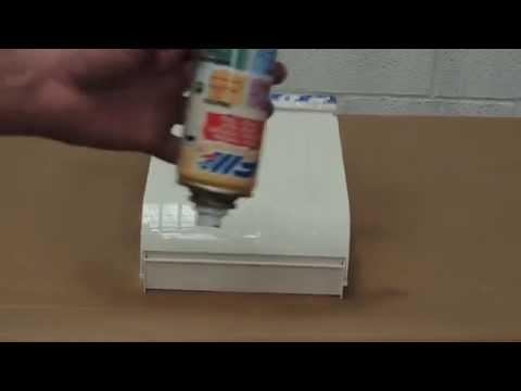 Como pintar con pintura en Spray FM un buzón de plástico para exterior.