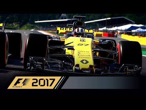 F1 2017 muestra un nuevo tráiler con secuencias de juego