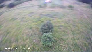 Crash racing drone, motor magnet, nut and prop broke :/ краш дрона