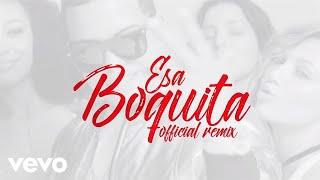 J Alvarez Ft. Zion y Lennox - Esa Boquita [Official Music Remix]
