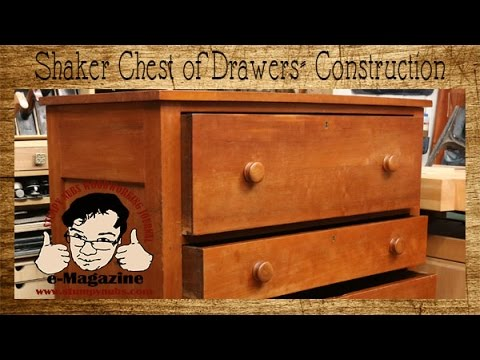 Woodworker explains what to look for in a genuine Shaker piece of furniture