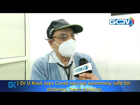 Dr U Koul says Covid vaccine extremely safe for diabetes, heart patients