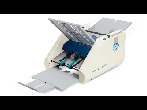 Table Top Paper Folding Machine
