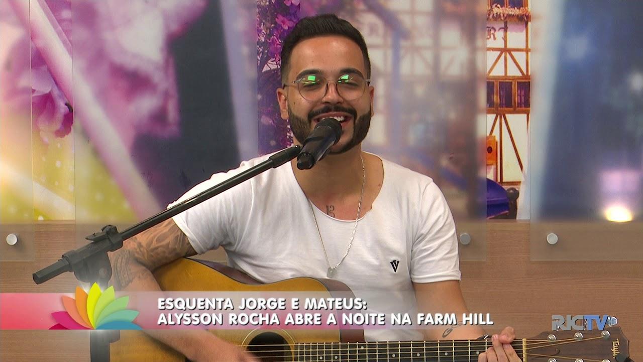 Alysson Rocha abre o show da dupla Jorge e Mateus em Araquari - ND Mais - Entretenimento