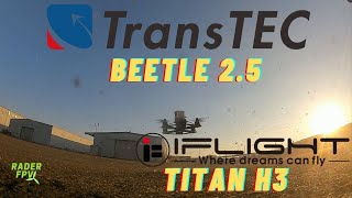 IFlight Titan H3, Transtec Beetle | Flight session with Sowhat-FPV