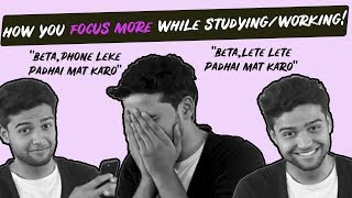 THIS IS HOW YOU FOCUS MORE WHILE WORKING/ STUDYING!
