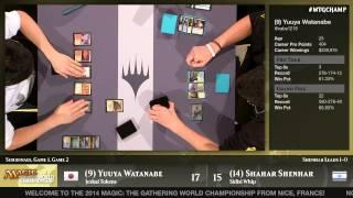 World Championship 2014 Semifinals (Standard): Shahar Shenhar vs. Yuuya Watanabe