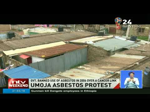 Umoja residents decry poor disposal of asbestos