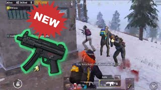 NEW WEAPON IS OP! | SOLO SQUAD | PUBG MOBILE