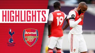 HIGHLIGHTS | Tottenham 2-1 Arsenal | Premier League | July 12, 2020