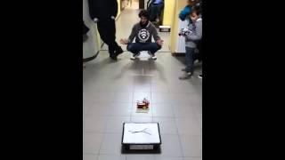 Sfida finale con robot costruito mediante la scheda Arduino…