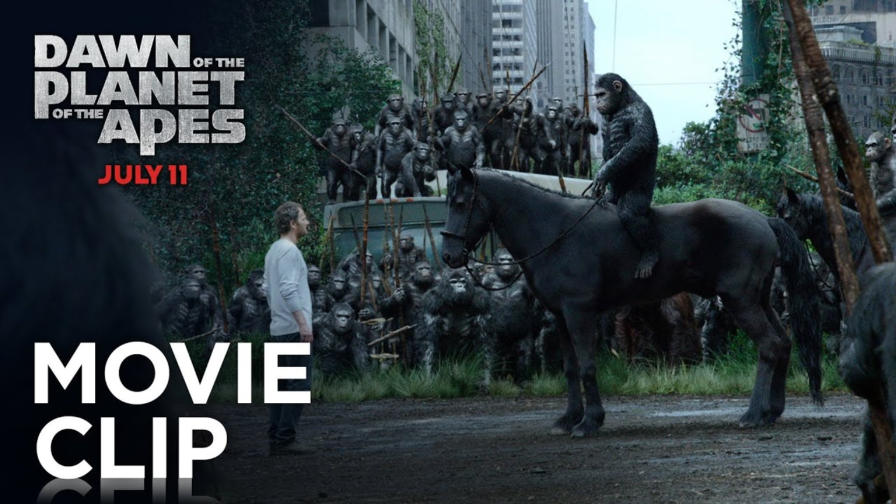 Dawn of the Planet of the Apes - Apes Don't Want War