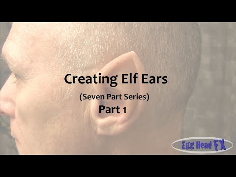 How to Make Elf Ears - Casting your Actor's Ears (Part 1)